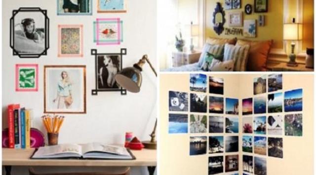5 طرق بسيطة لتزيين جدران غرفتك بالصور