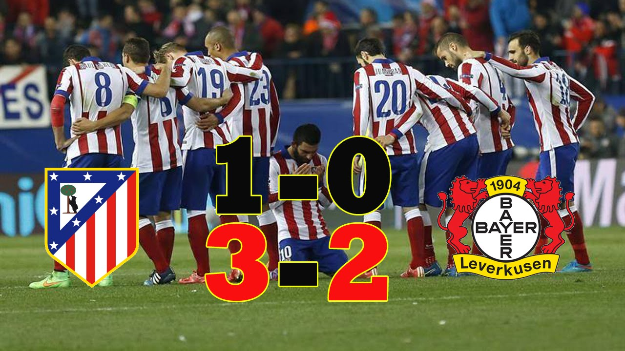 اتلتيكو مدريد وباير ليفركوزن 3-2