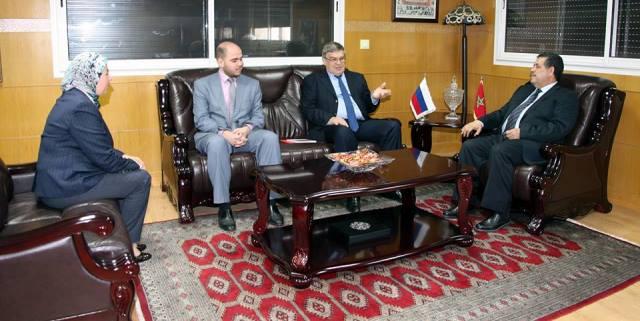 سفير موسكو في الرباط يشيد بدور المغرب في المنطقة نظرا لاستقراره