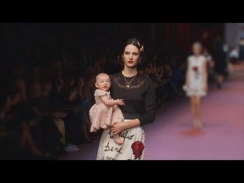 أسبوع الموضة في ميلانو يحتفل بعيد الأم