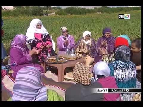 بورتريه المولدة المغربية للا يامنة