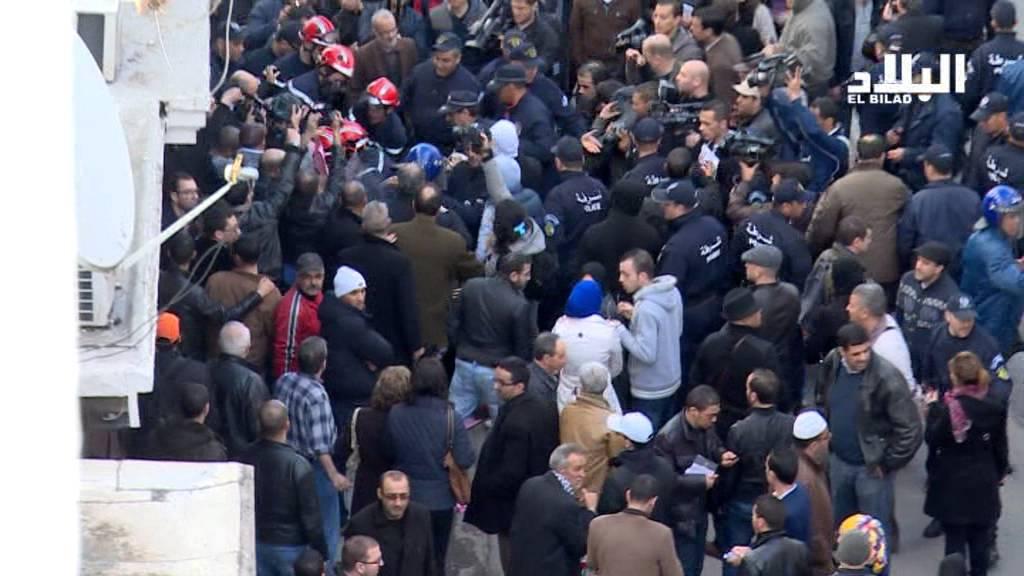 احتجاجات المعارضة بقلب الجزائر العاصمة