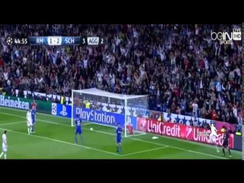 أهداف مباراة ريال مدريد ضد شالكه