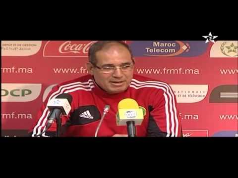 ندوة بادو الزاكي حول مباراة الأوروغواي