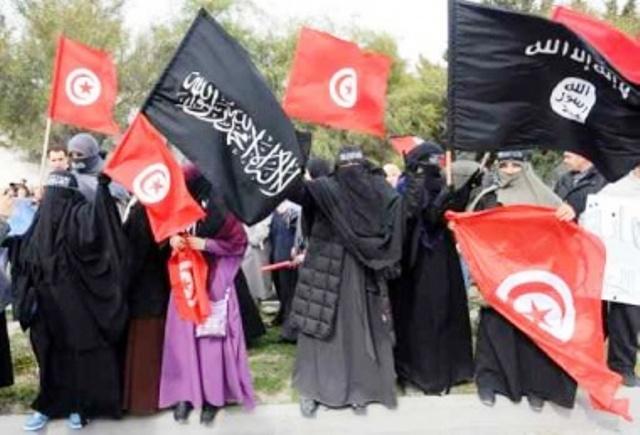إحصائيات رسمية:100 تونسية مارسن جهاد النكاح في سوريا