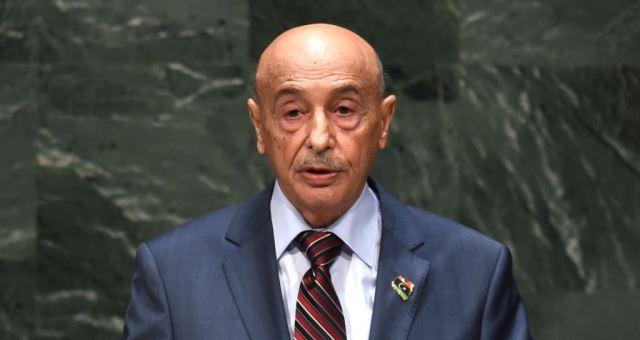 ليبيا: رئيس مجلس النواب يهاجم قطر وينتقد الجزائر والغرب