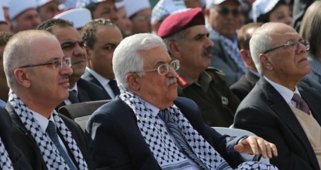 السلطة الفلسطينية:
