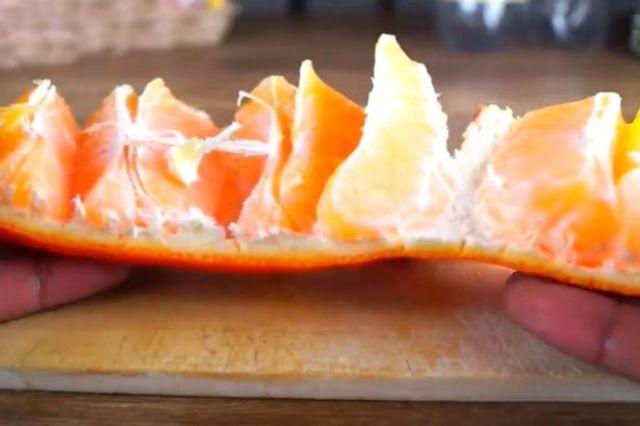 بالفيديو: أحدث وأسهل طريقة لتقشير البرتقال
