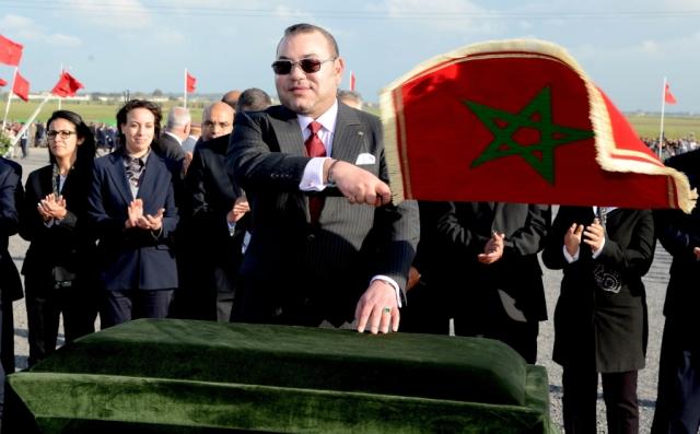العاهل المغربي يعطي انطلاقة عملية