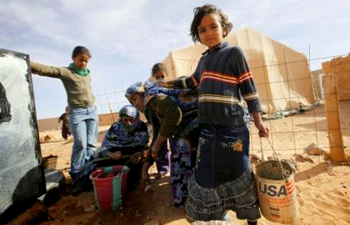 أمنستي تحمل الجزائر مسؤولية الاوضاع المأساوية بمخيمات تندوف
