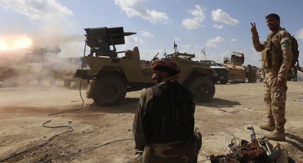 القوات العراقية:
