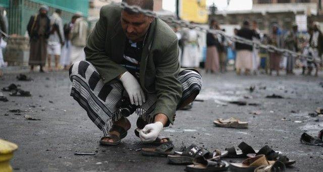 35 قتيلا في هجمات انتحارية بصنعاء