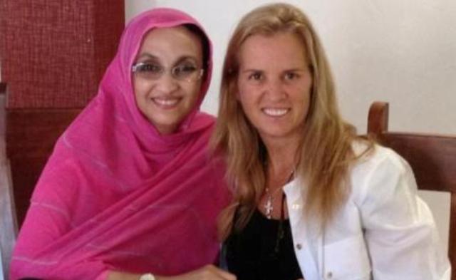 كيري كنيدي تستقبل الانفصالية اميناتو حيدر وتشدد حملتها على المغرب
