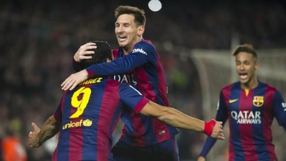 برشلونة ينتصر على الريال ويقترب من اللقب
