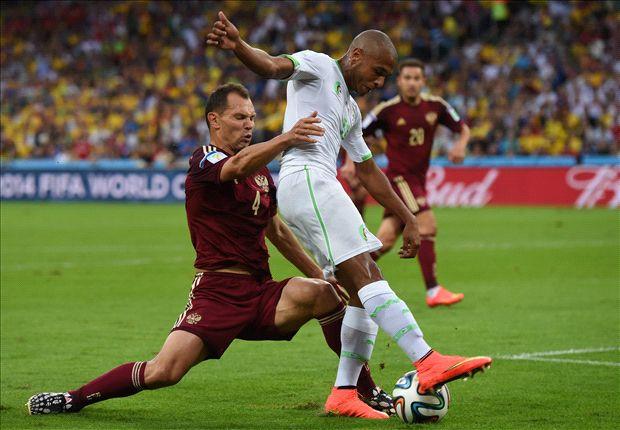 براهيمي : لا يجب أن نخجل من الخسارة امام قطر