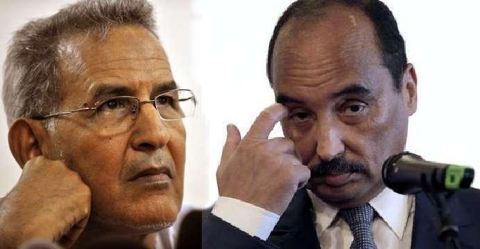 ولد داداه يكشف مخططات ولد عبد العزيز والأخير ينفي تغيير الدستور