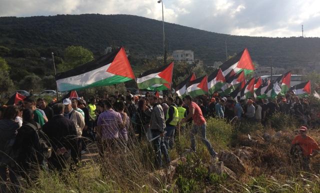 هذه هي قصة  يوم الارض الفلسطيني