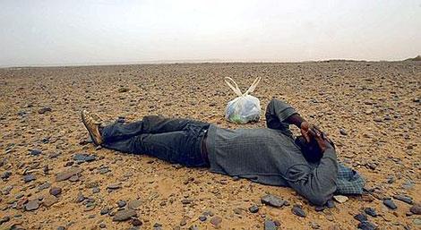 إنقاذ 40 شابا من الموت عطشا بصحراء ورڤلة