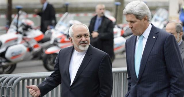 كيري وظريف يجتمعان بخصوص الملف النووي الإيراني