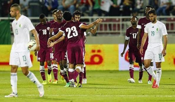منتخب الجزائر ينهزم في مباراة ودية امام قطر