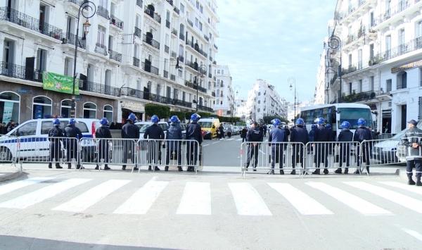 مسيرة احتجاجية ضد استغلال الغاز الصخري بالجزائر العاصمة