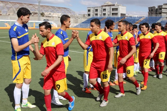 مباريات الدوري الليبي لكرة القدم في تونس أو مصر
