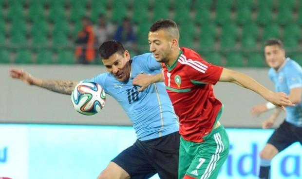 المنتخب المغربي يخسر أمام الأوروغواي بصعوبة