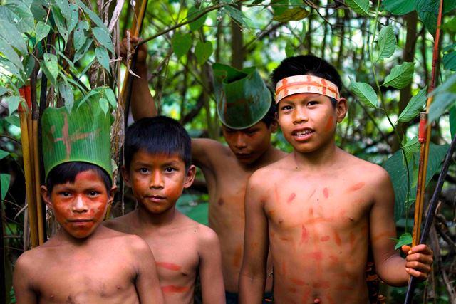 إكتشاف قبيلة معزولة في الأمازون
