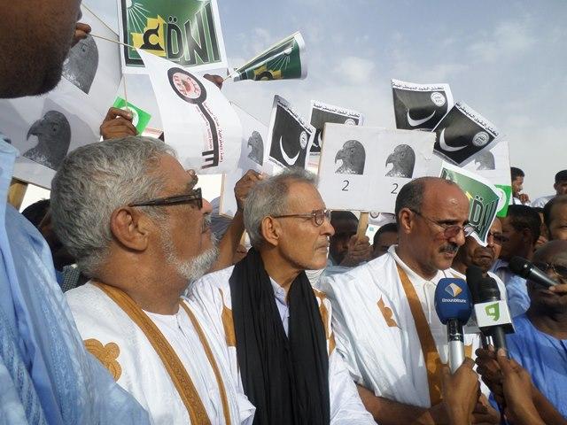 المنتدى الموريتاني ينتظر مقترحات الأقطاب ويؤجل المسيرة الشعبية