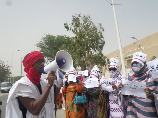 حقوقيون يحتجون بنواكشوط ويطالبون بمحاكمة ولد داهي