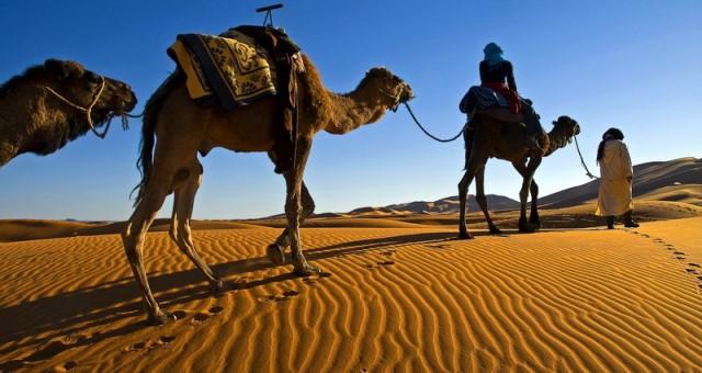 صحراء مرزوكة..مكان اسطوري يتنفس عبق التاريخ