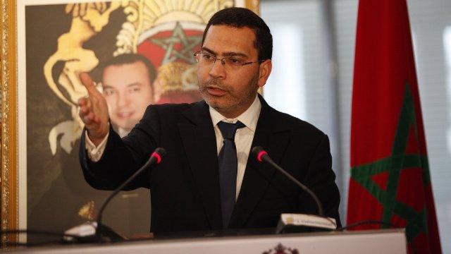 وزير الاتصال المغربي
