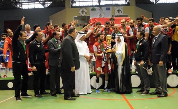النجم الساحلي بطلا للأندية العربية لكرة اليد