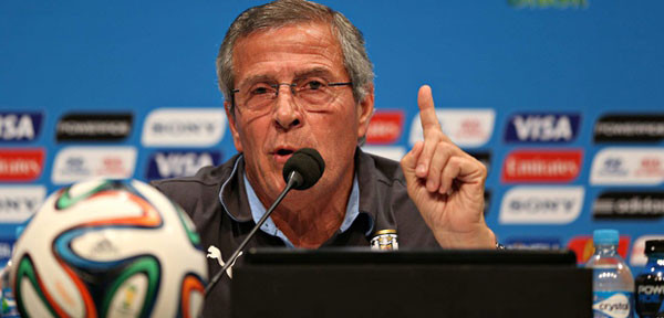 طاباريث: مباراتنا أمام المنتخب المغربي مهمة للأوروغواي