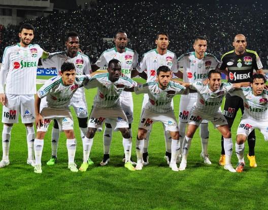 الرجاء البيضاوي يتصدر ترتيب الأندية المغربية قاريا