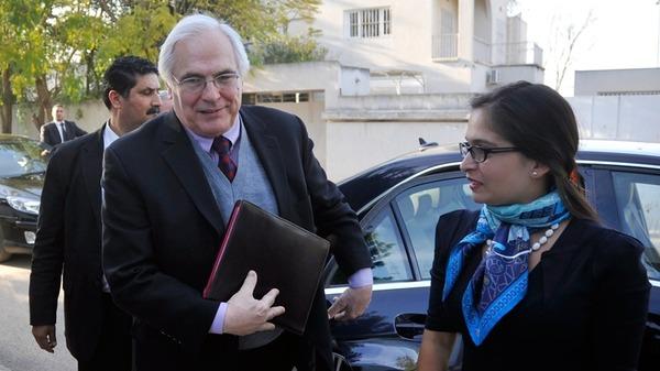 المبعوث الأممي كريستوفر روس في زيارة لموريتانيا