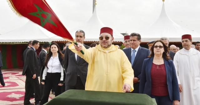 العاهل المغربي يعطي انطلاقة مشاريع مينائية جديدة ضمن برنامج