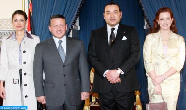 بدعوة من الملك محمد السادس..عاهل الأردن وعقيلته يزوران المغرب يوم الثلاثاء