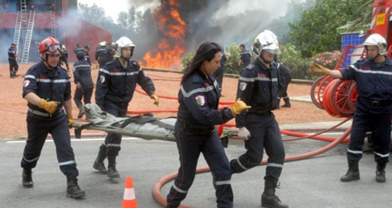 قتلى وجرحى في حريق بمستشفى وسط الجزائر