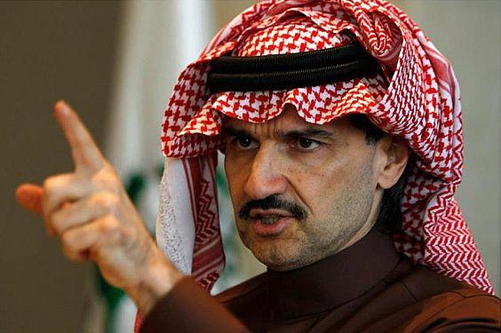 ثروة الوليد بن طلال تجعله الأغنى في العرب
