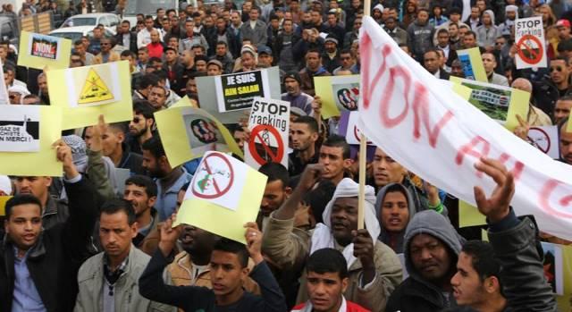 الغاز الصخري وتحرير تجارة الخمور يشعلان فتيل الاحتجاجات في جنوب الجزائر