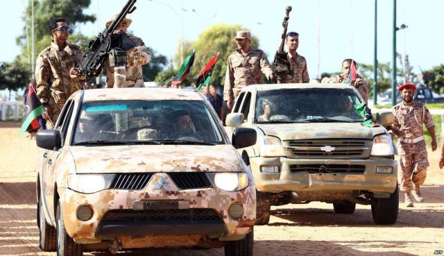 الجيش الليبي يسيطر على منطقة الزهراء في طرابلس
