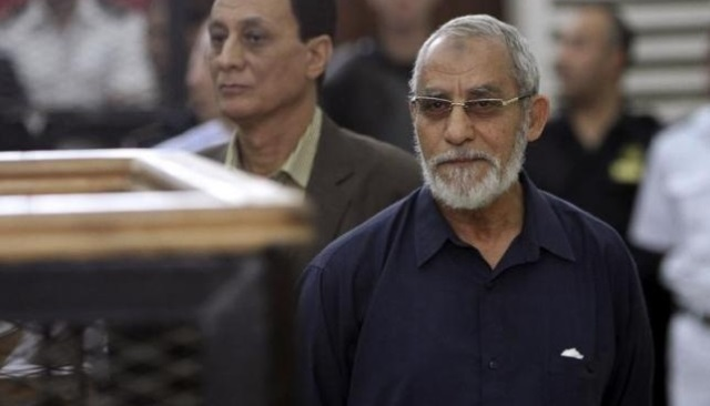 مصر..تثبيت حكم الإعدام على مرشد الإخوان و13 آخرين