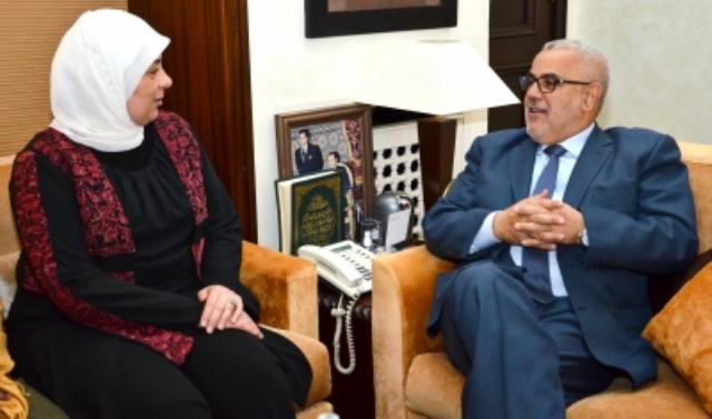 بنكيران يجدد تشبث المغرب بمواصلة دعم القضية العادلة للشعب الفلسطيني