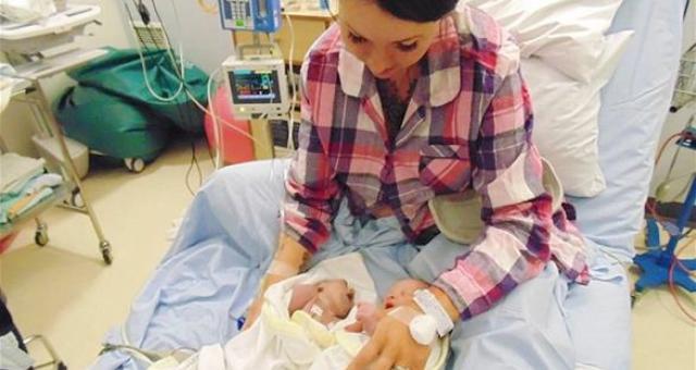 أهل طفل يتبرعون بأعضائه بعد ساعات على ولادته