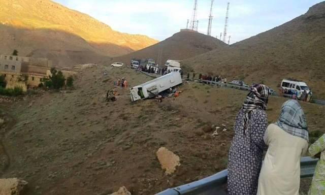 وزير الصحة المغربي يزور جرحى حادثة ورزازات