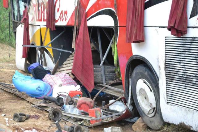 حادثة جديدة في جنوب المغرب بعد مأساة طنطان..انقلاب حافلة لنقل المسافرين في ورزازات