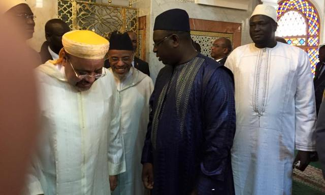 الرئيس السنغالي يزور ضريح سيدي أحمد التيجاني بالمدينة العتيقة لفاس
