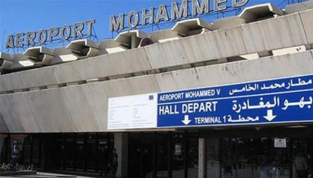 إيقاف مهاجر مغربي بمطار محمد الخامس كان يحمل مسدسا وذخيرة