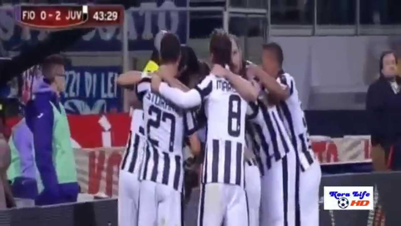 فيورنتينا ويوفنتوس 0-3